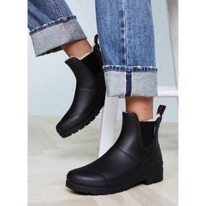NEW Tretorn Lina faux fur lined rain booties
